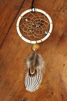 * MATERIALS :  • White Suede Leather Lace • Metal Hoop • Thermal Color Changing Bead/Mood Bead • Artificial Sinew • Authentic Gemstone Chip Beads