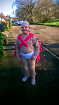 Captain underpants for world book day