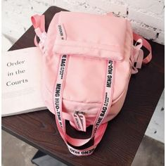 Various Features of Cute School Bags – Bags & Purses Pink And Green, Black And Grey, Gray Green, Fun First Dates, Outfit Des Tages, First Date Outfits, Cute Backpacks, School Backpacks, Teen Backpacks