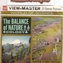 Ecology+Packet+with+3+Reels,+booklet,+and+Cover+with+top+flap+missing  VIEW-MASTER+REEL+ONE+B686  1.+Coyer+Picture—Mountain+grandeur 2.+Cover+Picture—Industrial+Pollution of+Air+and+Water 3.+Timber+Line—Life+Zone+Boundary 4.+Habitats—Bluebird+Family 5.+Environment—Giraffes+in+Africa 6.+...