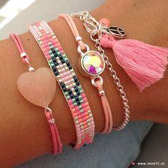 Best Bracelet Perles 2017/ 2018 : Mint15-bracelets www.mint15.nl...