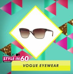 Beautiful pleats deserve a treat! Get these chic summer style shades from Vogue .Eyewear just like VJ Gaelyn and up your glam quotient in no time!