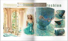 Toscana and Provence vintage mug.
