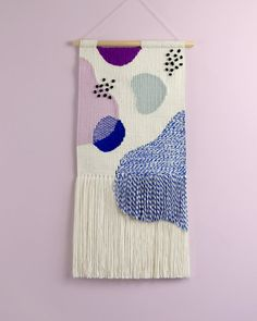 Woven Wall Hangings Twill Hill on Etsy See our. Weaving Wall Hanging, Weaving Art, Tapestry Weaving, Loom Weaving, Hanging Wall Art, Hand Weaving, Wall Hangings, Organic Art, Textiles