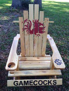 #USC #Gamecocks custom Adirondack chair