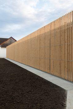 Fence Idea: Elementary School Sports Hall by Jovan Mitrović