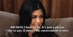 And shut down a conversation like this. | 32 Times Kourtney was the most underrated Kardashian