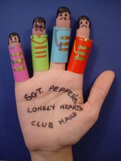 Sgt. Pepper's Lonely Hearts Club Band fingers