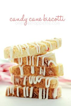 candy cane biscotti. BEST use of candy canes ever!
