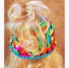 Messy Bun Hat, Crocheted Ponytail Hat, Messy Bun Beanie by LoveCareHandmade on Etsy https://www.etsy.com/listing/506065521/messy-bun-hat-crocheted-ponytail-hat
