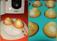 Magdalenas con toque limón para #Mycook http://www.mycook.es/cocina/receta/magdalenas-con-toque-limon