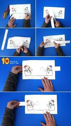 Snowmen playing with a snowball, forchildren . - - Snowmen playing with a snowball, forchildren . Kids Crafts, Winter Kids, Christmas Crafts For Kids, Kids Christmas, Holiday Crafts, Christmas Printables, Quick Crafts, Winter Sport, Christmas Projects