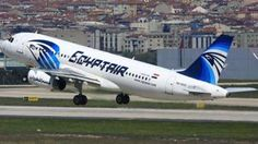 A photo from April 2014 of EgyptAir Airbus A320-232 (registration SU-GCC) that has gone missing while flying from Paris to Cairo as Flight MS804