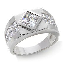 Victoria Wieck 4.4ct Absolute™ Square Men's Ring