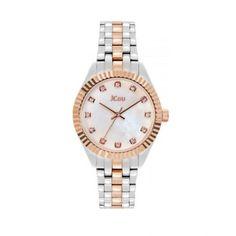 Γυναικείο luxury & καθημερινό ρολόι JCou JU20000-4 Lucille με mother of pearl καντράν και δίχρωμο μπρασελέ   Γυναικεία ρολόγια JCou ΤΣΑΛΔΑΡΗΣ στο Χαλάνδρι #jcou #Lucille #μπρασελε #tsaldaris Rolex Watches, Bracelet Watch, Bracelets, Accessories, Bangle Bracelets, Watch, Bracelet, Bangle, Arm Bracelets