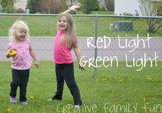 Play Red Light, Green Light