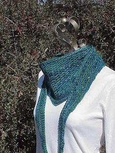 Kriskrafter: New Knitting Pattern! Quite Simply...Scarf
