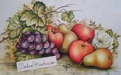 Resultado de imagem para pinturas dalva Ladybug Rocks, Stencil, Fruit Painting, Still Life, Diy And Crafts, Creative, Printables, Applique Quilts, Artwork Ideas