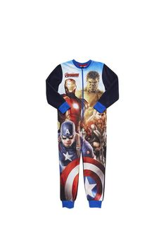 Clothing at Tesco | Marvel Avengers Onesie > nightwear > Nightwear & Slippers > Older boys