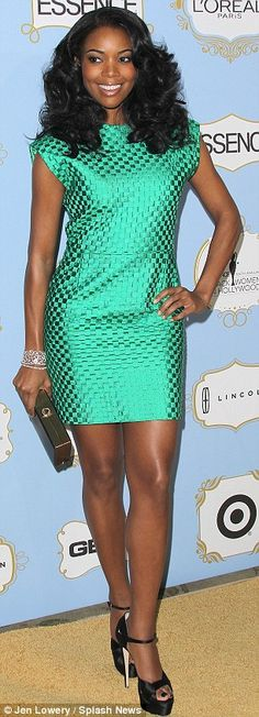 Gabrielle Union...hates a strong word...not a fan