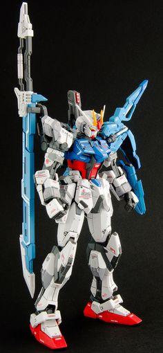 GUNDAM GUY: GUNDAM GUY: READERS FEATURE GUNPLA BUILD - MG 1/100 Sword Strike Gundam by Chong Hin