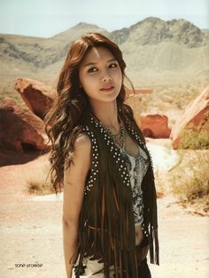SNSD, Girls Generation in Las Vegas Photobook Sooyoung