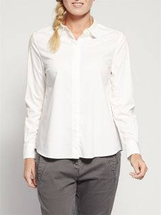 A White Shirt is an Essential Item in Every Woman's Wardrobe.  Sandwich White Shirt at The LBD Boutique http://thelittleblackdressboutique.co.uk/products/315763--sandwich-white-blouse.aspx