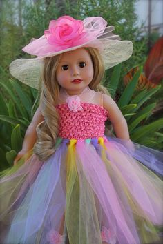 18 inch doll Fashion to fit American Girl. Designer Dolls by Harmony Club Dolls www.harmonyclubdolls.com