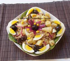 Cobb Salad, Acai Bowl, Salads, Cooking Recipes, Breakfast, Ethnic Recipes, Food, Romanian Recipes, Acai Berry Bowl