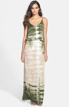 Young, Fabulous & Broke 'Holland' Tie Dye Maxi Dress available at #Nordstrom