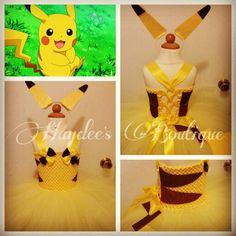 """Pika Pika!"" #haydeesboutique #pokemon #pikachu #anime #animegirl #tutu #tutudress"