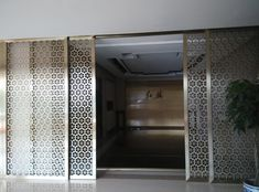 Image result for laser cut sliding door