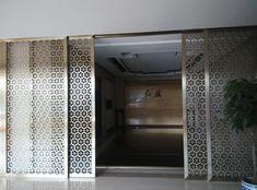 Image result for laser cut sliding door