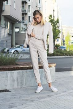 nice neutrals & classic chic. Tine in Stockholm. #TheFashionEaters