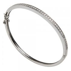 Silver bangle. Find out more at https://www.facebook.com/miobilbaojoyas/