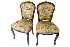 Liberty of London Accent Chairs, Pair | One Kings Lane