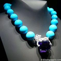 MLMM New Creative Fashion Jewelry Blue Bracelet Bracelet Leather Bracelet Blue 185mm