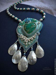 """Кулон """"Давья"""". Handmade.  #bead"""