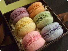 Macarons #sew #felt #patterns