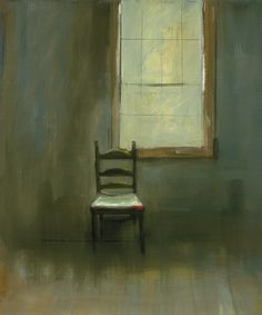 "thefullerview:    Anne Packard ""Empty Chair"""