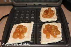Apple Pie Waffles Recipe