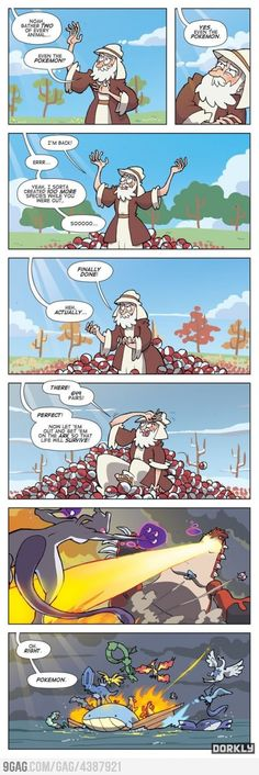 The amount of Pokemon´s is too damn high!