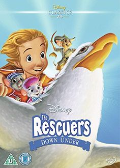 Buy Family Movies on DVD or Blu Ray At Sanity. The Latest & Best Selling Movies Everyone Will Love - On Sale Now. Disney Movie Posters, Disney Films, Disney Art, Walt Disney, Disney Characters, The Rescuers Down Under, Joey Lawrence, Family Night, Disney Pictures