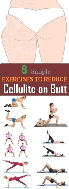 8 The most effective exercises to reduce cellulite on the buttocks Yoga & Fitn. - 8 The most effective exercises to reduce cellulite on the buttocks Yoga & Fitness - Yoga Fitness, Fitness Workouts, Fitness Motivation, Easy Workouts, Health Fitness, Health Diet, Butt Workouts, Fitness Diet, Sport Motivation