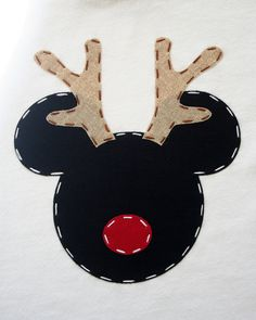 Reindeer Mickey Christmas Shirt.