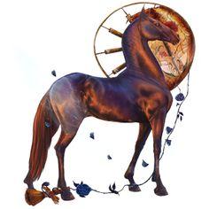 Nectar 5, Riding Horse Arabian Horse Chestnut #42057630 - Howrse