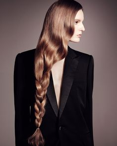 The Rapunzel Plait  The Extreme Chic of Long Hair: 5 Ideas for Styling a Waist-Length Look