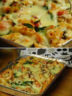 baked halloumi pasta. I love halloumi. Must try