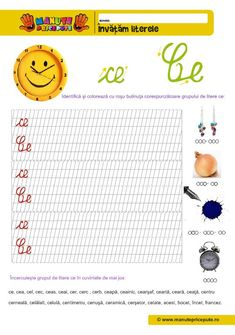 Grupuri de litere: che, chi, ghe, ghi, ce, ce, ge, gi Stories For Kids, Bookmarks, Lettering, Activities, Reading, Homeschooling, Google, Double Deck Bed, Rome