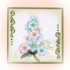 Leane Creatief stempel 55..0591 Blossom